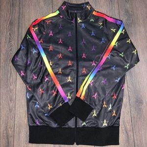 Jeffree star rainbow jacket